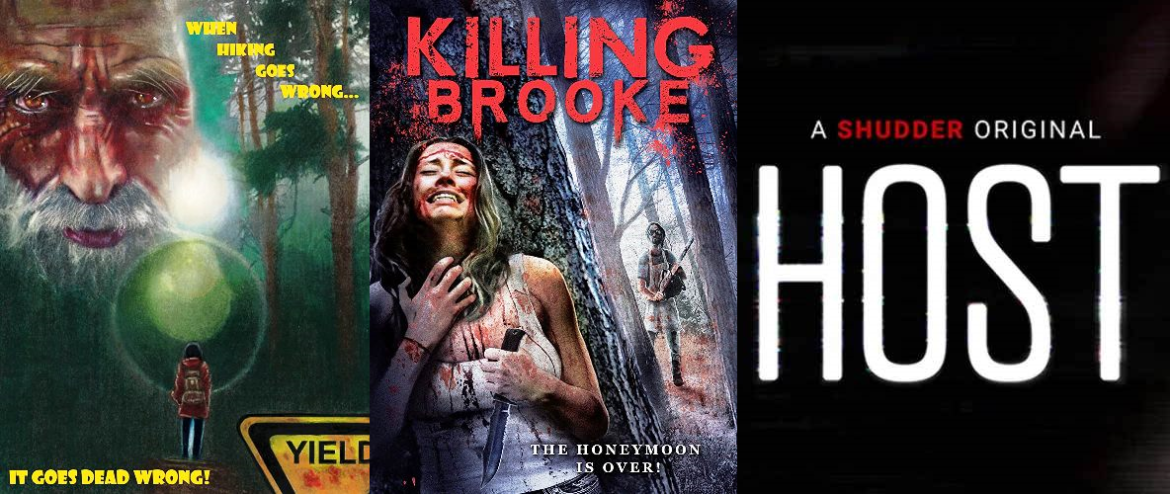 Episode 047 – Killing Brooke (2012), Yield (2020), and Host (2020)